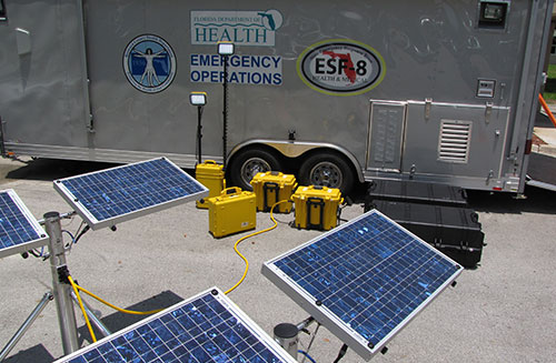Florida state EOC adopts Solar Stik products