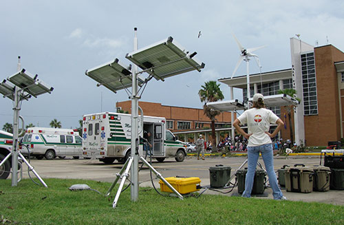 Hurricane Ike relief