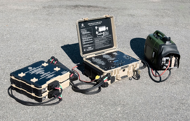 Solar Stik Completes Development of 1kW/2kW Hybrid Power System for Soldier and Small Unit Power