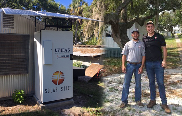 UF/IFAS Seahorse Key Facility to Employ Solar Stik LifeGuard Battery Cabinet